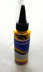 TINTA DYE PARA IMPRESORAS BROTHER  AMARILLO 100ml