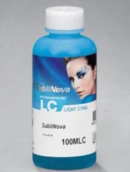TINTA DE SUBLIMACION INKTEC SUBLINOVA SMART BOTELLA 100ml CYAN CLARO