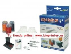 KIT RECARGA TINTA COLOR HP ENVY PRO 6432