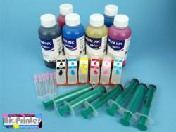 Pack Tinta Sublimación y Cartuchos Recargables Epson 378 378xl