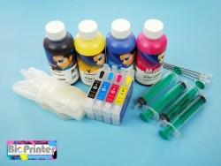 Pack Tinta Sublimación y Cartuchos Recargables Epson T071
