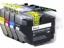 PACK CARTUCHOS COMPATIBLES LC3219XL PARA BROTHER: MFC-J5330DW, MFC-J5730DW, MFC-J6530DW