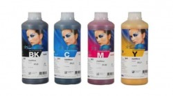 PACK 4 BOTELLAS TINTA DE SUBLIMACION INKTEC SUBLINOVA SMART BOTELLA 1 LITRO 4 COLORES